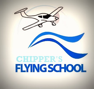 chipper's flight school logo