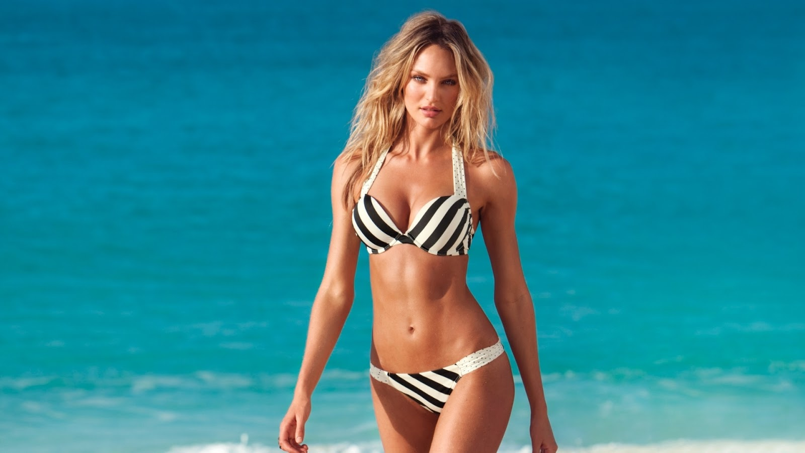 Model Candice Swanepoel HD Hot Wallpaper