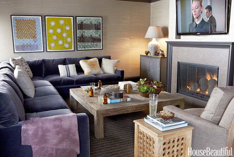 Living Room Layouts with Fireplace and Sectional