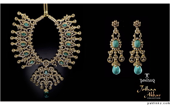 WEDDING PLANNER: Tanishq Jodha Akbar bridal kundan jewellery ...
