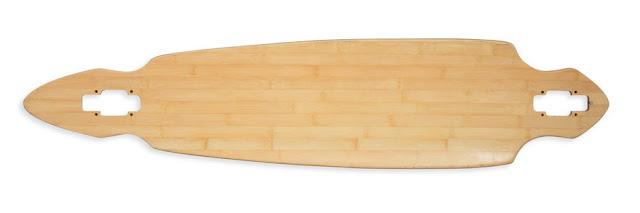 Bamboo Longboard Deck7