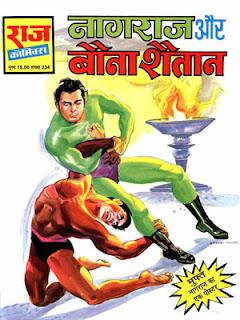 NAGRAJ AUR BAUNA SHAITAAN (Nagraj Hindi Comic) (PDF)