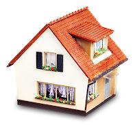 şirin küçük bir ev
