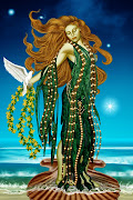 Afrodita, Diosa del amor y de la belleza, mujer creativa, amante y sensual.