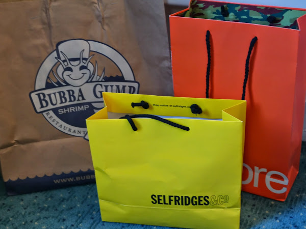 London Haul: Bubba Gump, Selfridges, Superdry and Souviners