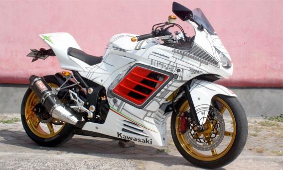 Ninja 250R terbaru