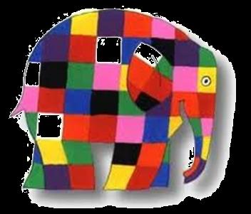 Elmer pi che un libro un personaggio mammamogliedonna - Libro da colorare elefante libro ...