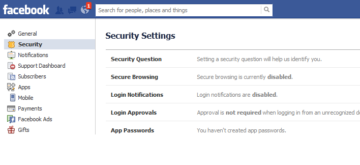 Increase Your Privacy on Facebook