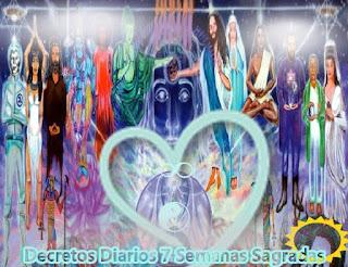 Las Siete Semanas Sagradas tiene lugar dos veces al año y abarcan siete semanas cada vez.