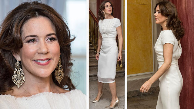Stylish and fashion Denmark's Crown Princess Mary - 2014