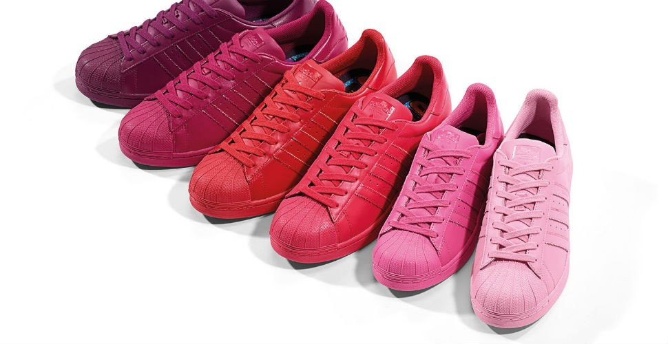 adidas superstar rosadas precio