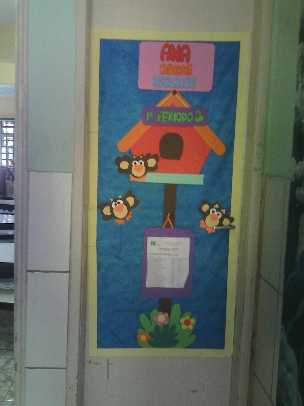 Arte Como Terapia Painel Para Decorar A Porta De Sala De Aula Na Creche -> Decoracao Sala De Artes