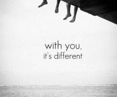 with you all is different