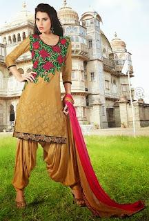 Latest Trendy Punjabi Suits for girls