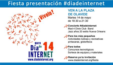Fiesta de presentación del Día de Internet, FÉNIX DIRECTO patrocinador