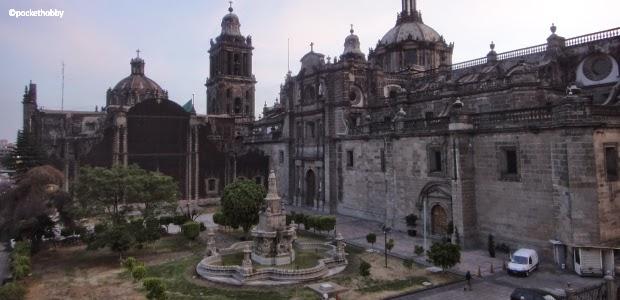Pocket Hobby - www.pockethobby.com - #HobbyTrip - Na Terra do Chaves - Cidade do México - Fachada Traseira da Catedral Metropolitana