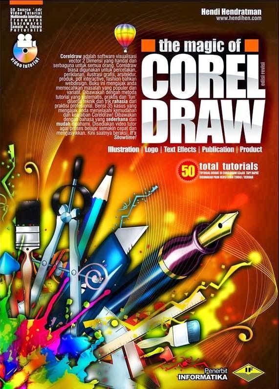 Corel Draw Book Cover Design Tutorial : Buku panduan corel draw tutorial