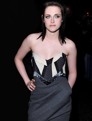 Actress Kristen Stewart Posing