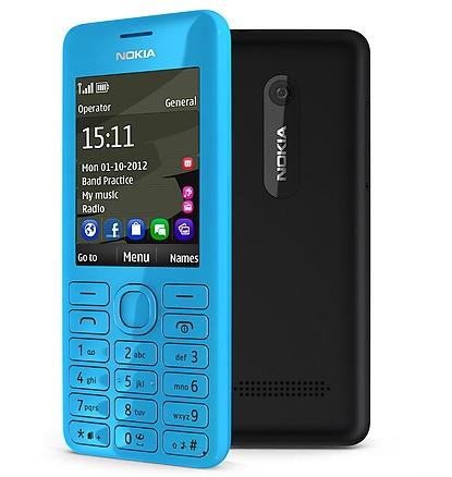 Nokia 206 Dual GSM, Harga Baru Rp 710.000