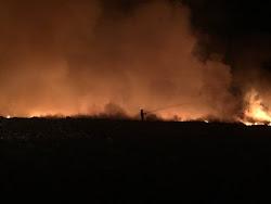 Douglas County landfill fire