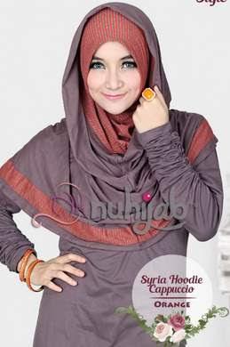 Contoh model Hijab Simpel Elegan Untuk Hari Raya