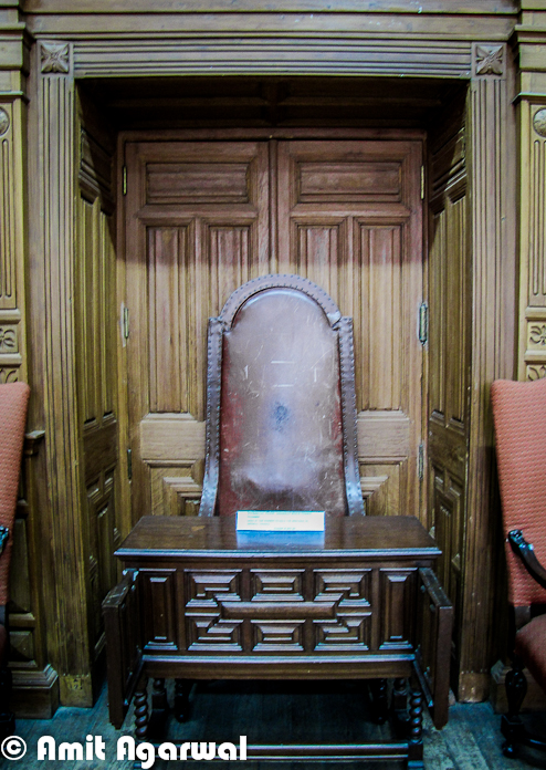 This Chair Is Called President's Chair, Where Viceroy Of India Used To