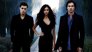 Stefan Elena and Damon Vampire Diaries HD Wallpaper