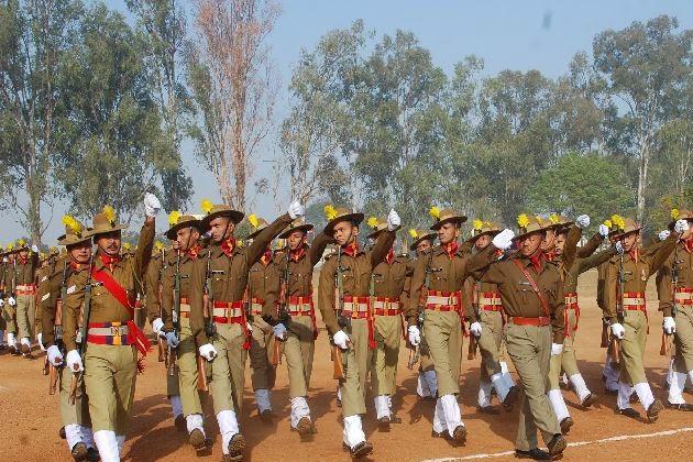 10,000 Gorkha jawans of JAP offer gun salute to goddess Durga