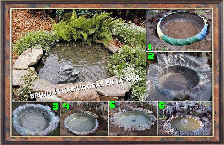 Brujitas habilidosas en la web hagamos un lago artificial for Como construir un lago artificial