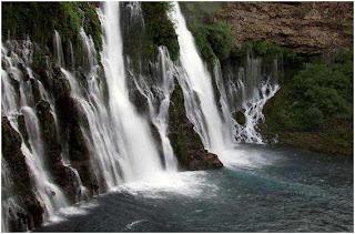 Burney+Falls 8 Air Terjun Terindah di Dunia