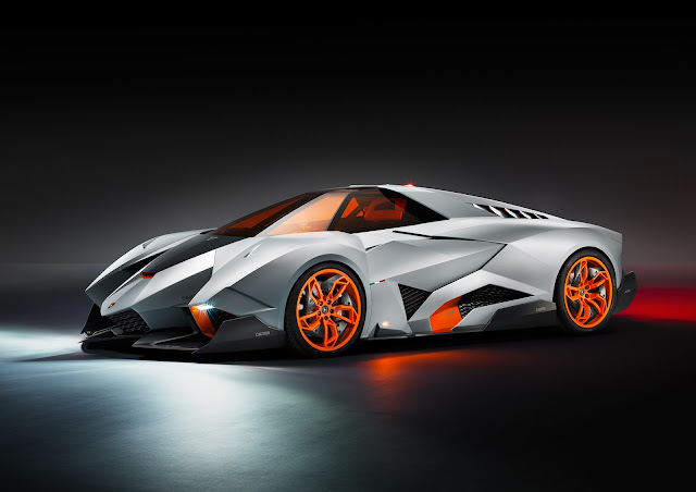 Lamborghini Egoista Single-Seat Concept: For Their 50th Anniversary, Lambo and Walter De Silva Have Truly Lost It