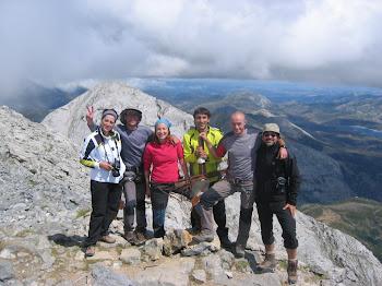 Subida ESPIGÜETE Mont.Palentina 2009