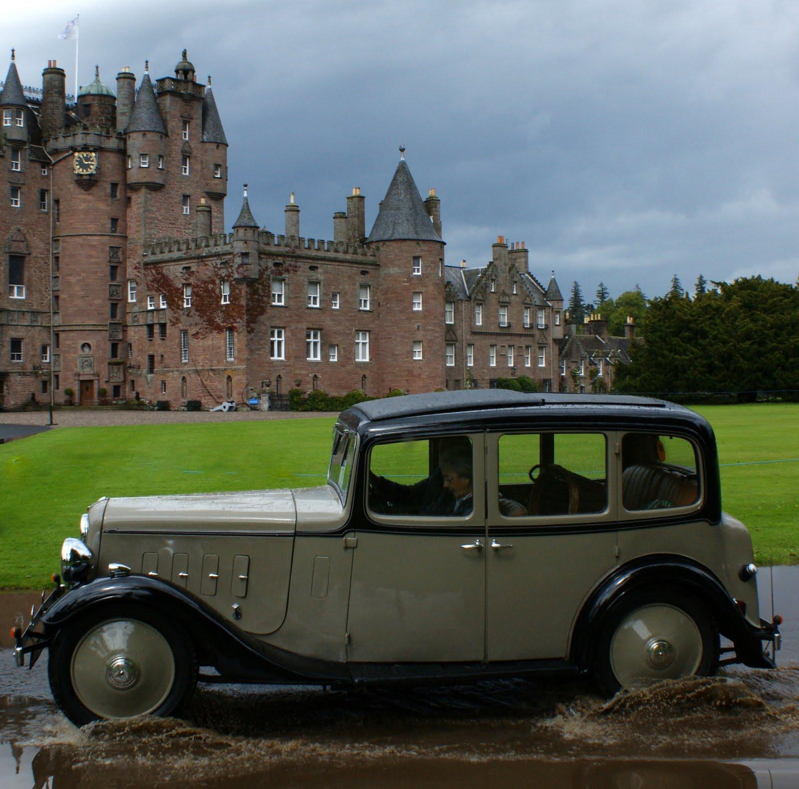 Tour Scotland Photographs Vintage Cars Glamis Castle July 9th | Tour ...