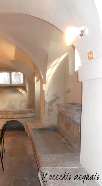 Vecchio acquaio villa Bottini Lucca