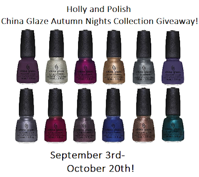Giveaway From Holly & Polish