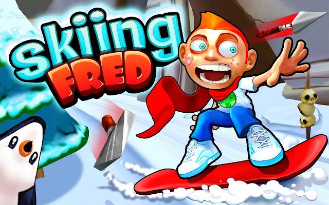 Skiing Fred v1.0.2 Mod APK Skiing Fred v1.0.2 Mod APK unnamed