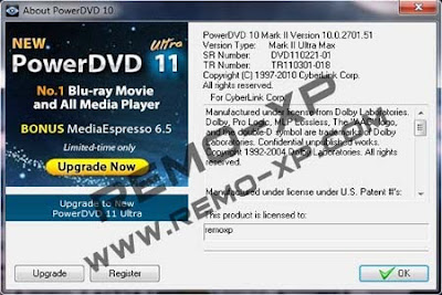 about powerDVD 3D Mark 10