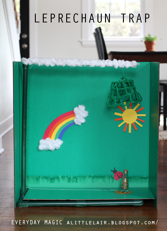 Leprechaun Trap.  Everyday Magic blog.