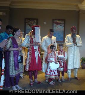 guests at Desination sikh Wedding