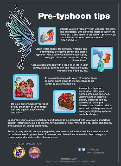 Pre-Typhoon Tips