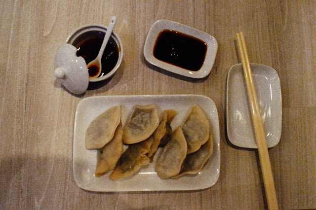 KitchenWIP - Vegetable Handmade Dumplings at Red Onion Cafe