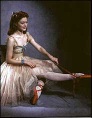 "Moira Shearer in a scene from ""The Red Shoes"" (1948),"