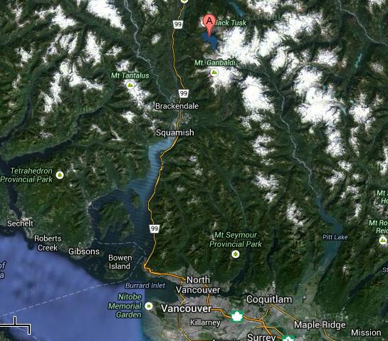 Vancouver to Garibaldi Provincial Park