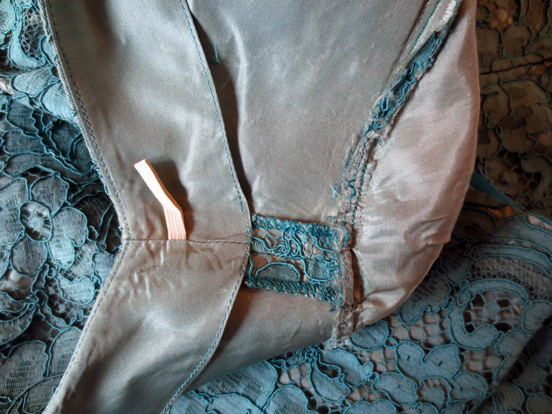 Vintageklänning Bengtsons spets