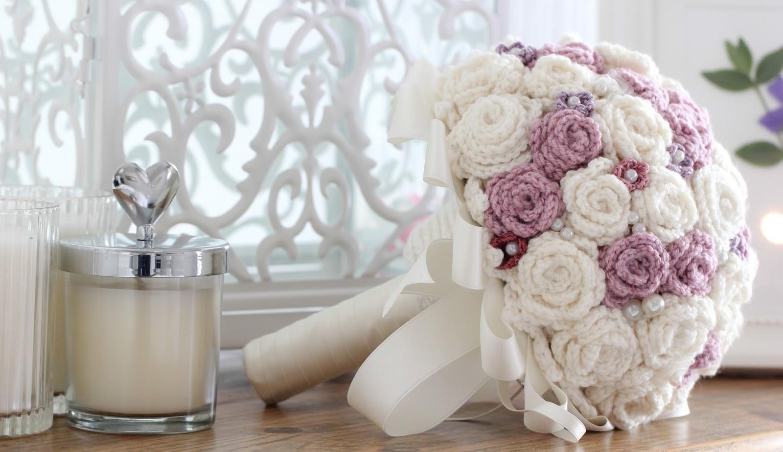 ramo novia crochet