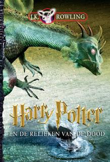 Harry Potter en de relieken van de dood, J.K. Rowling cover
