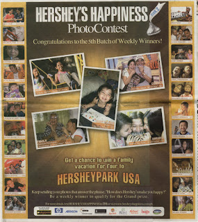 Hershey's Happiness Photo Contest