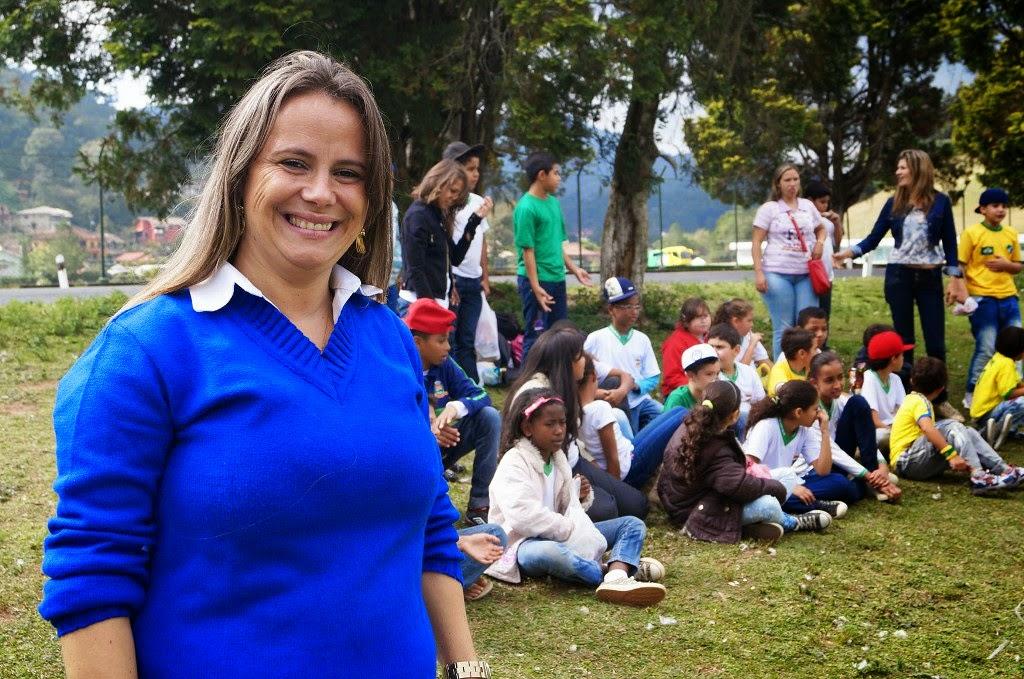 A coordenadora Jaqueline Aragão Rabello falou sobre a importância do projeto