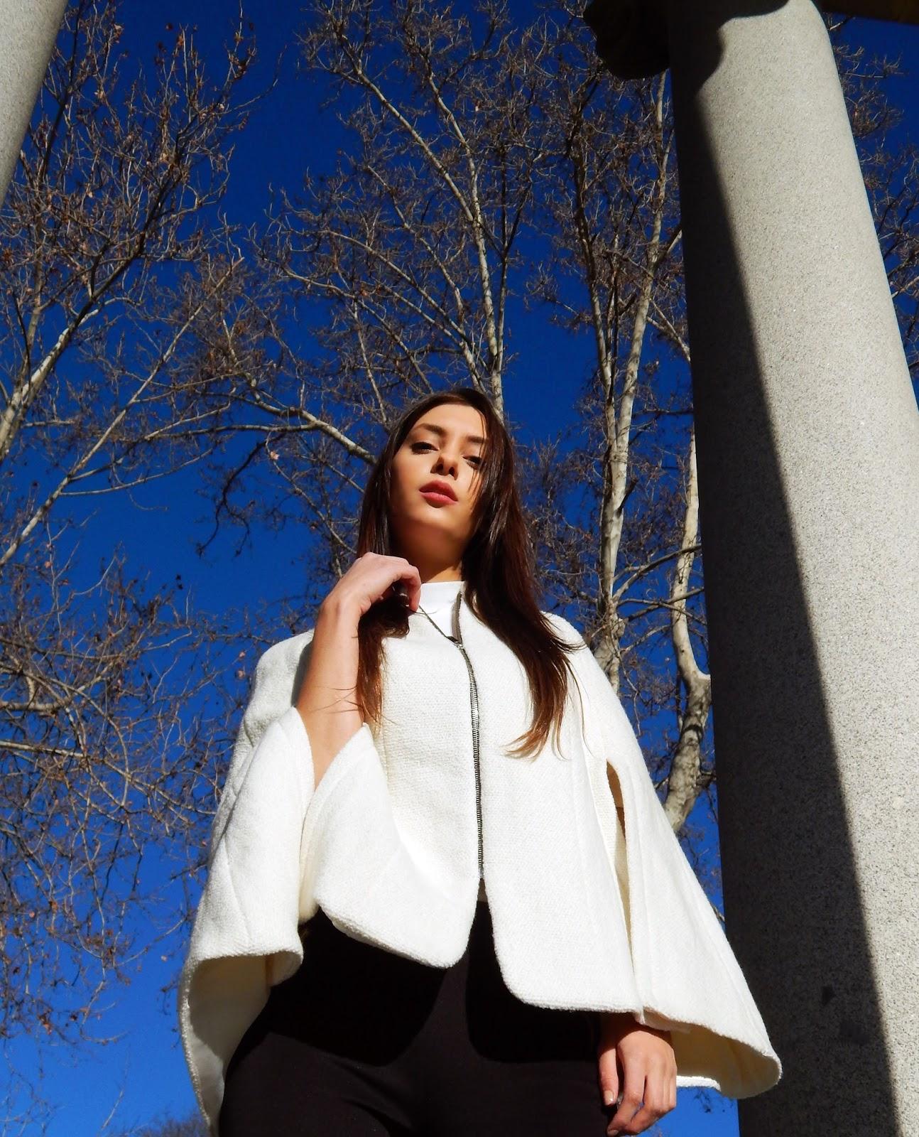 constance murphy white cape