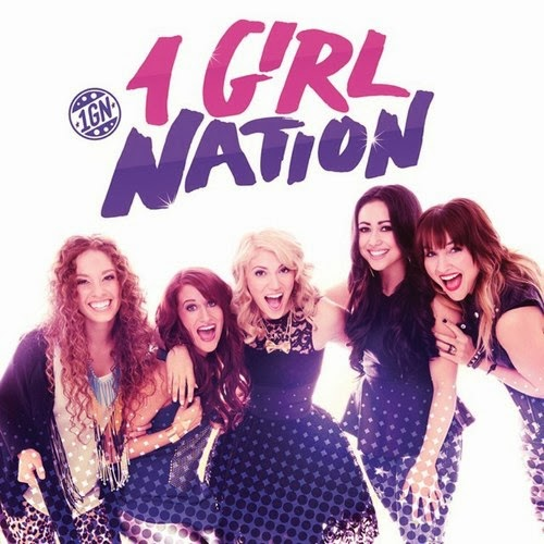 one girl nation cd cover